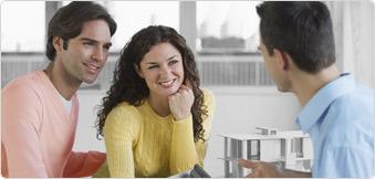 couple meeting with a country representative enter financial representative name