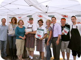 All the chefs and judges who helped make the COUNTRY Chef Challenge