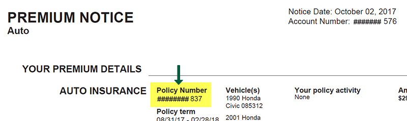 Auto or Property Bill