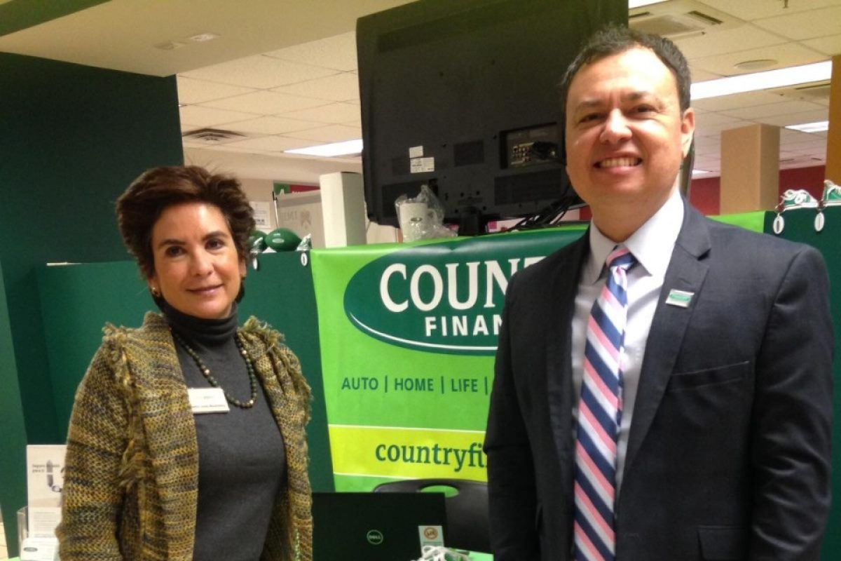 Country Financial insurance representatives in the community