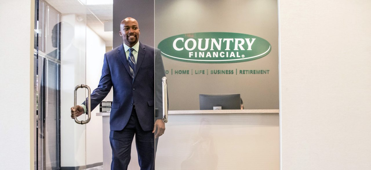 Local Country Financial Insurance Rep in office